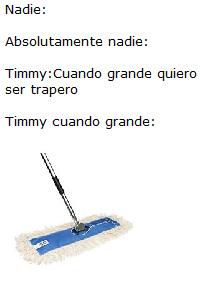 Timmy el trapero - meme