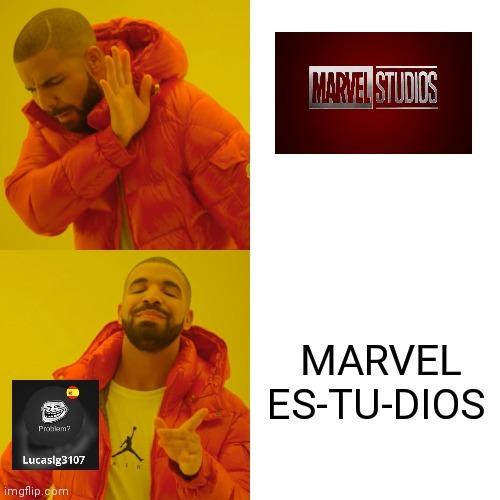 Marvel es tu dios - meme