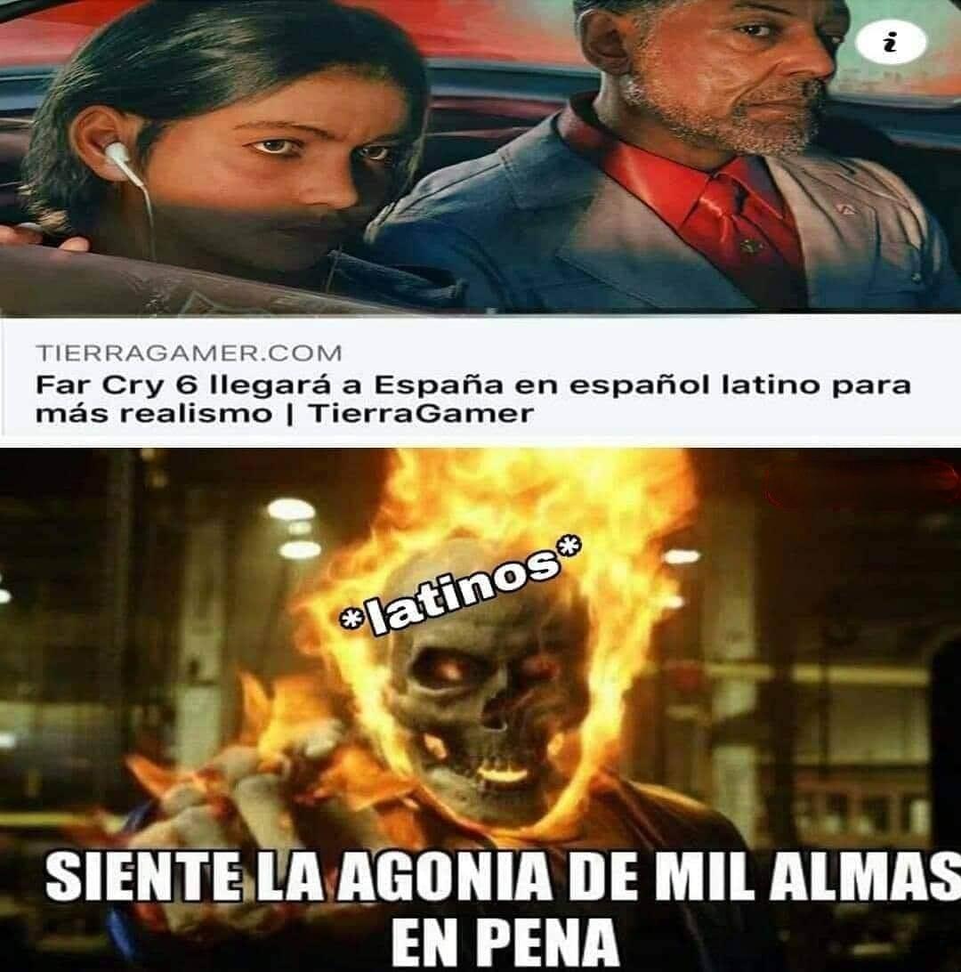 Far cry tercermundista - meme
