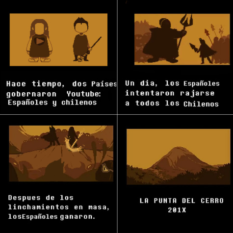 Youtubers chilenos - meme