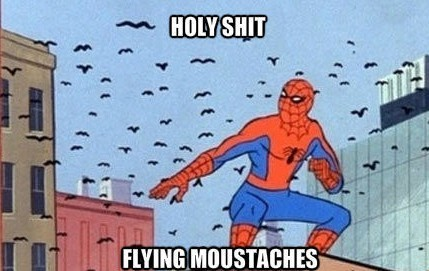EL spiderman - meme