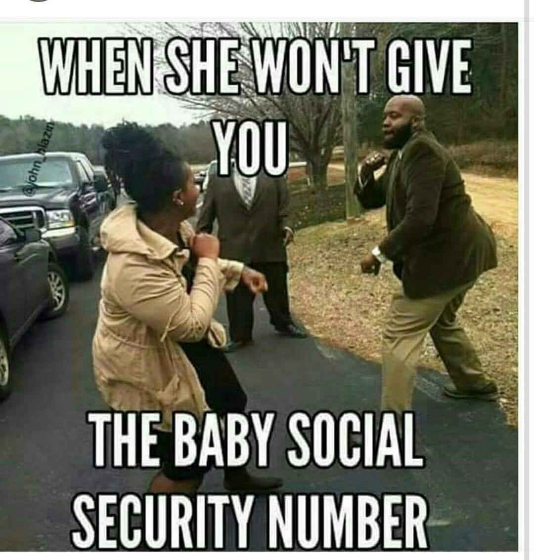 Baby momma problems - meme
