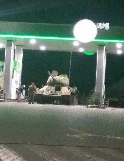 Refuel before battle, comrade - meme