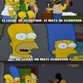 El mate, el cebador de scorpions