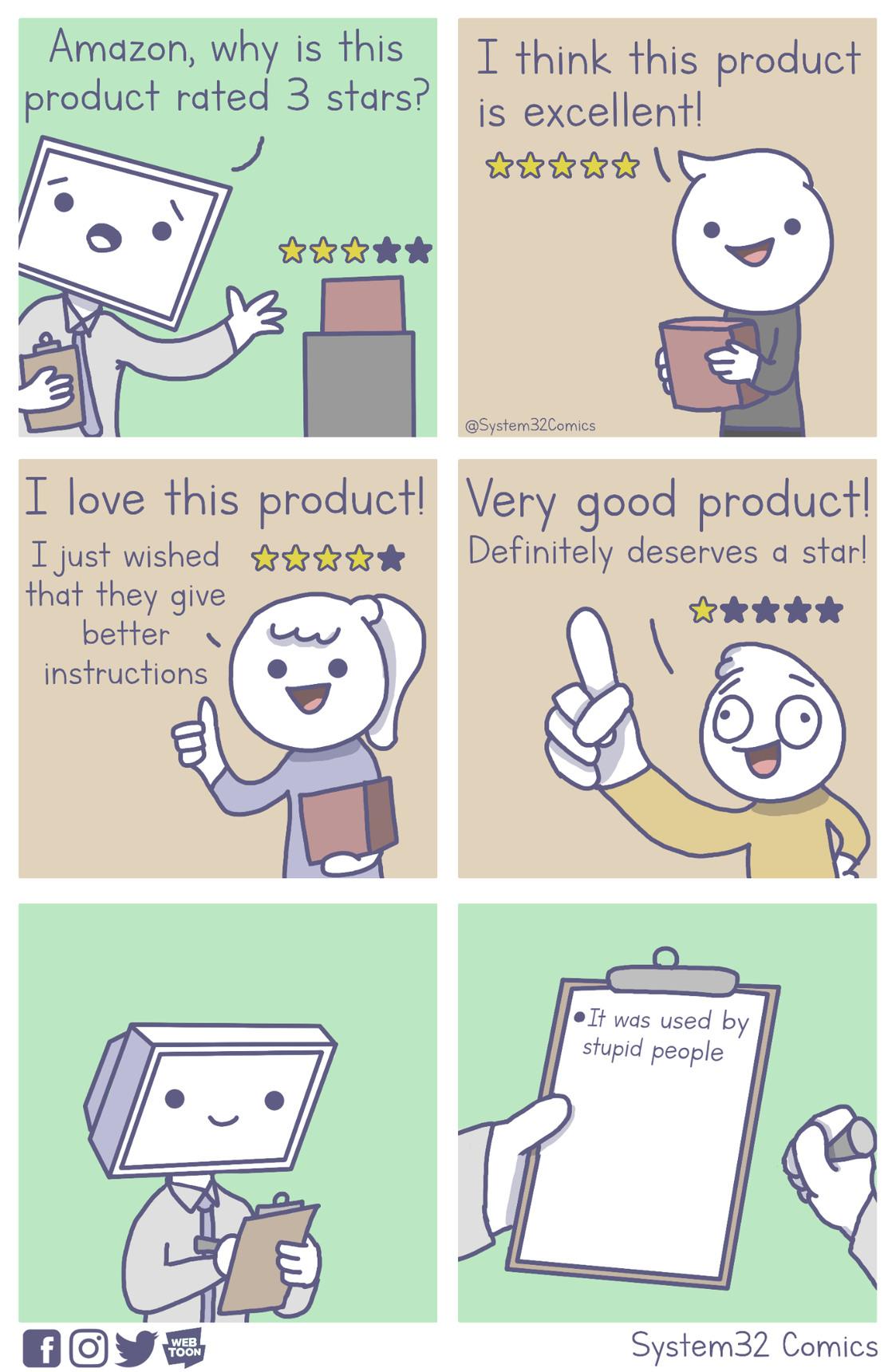 Amazon Reviews [OC] - meme