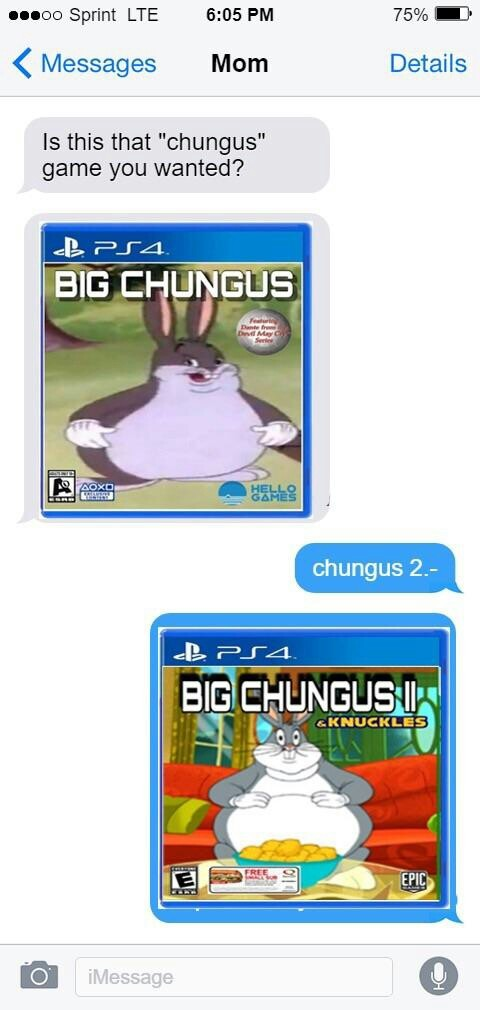 Big Chungus - meme