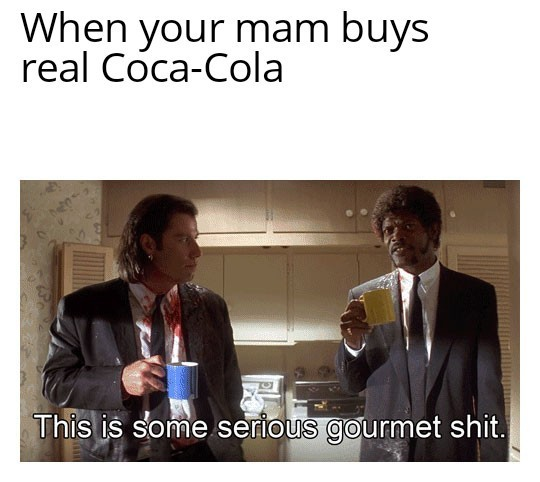 When your mam brings home the shopping - meme