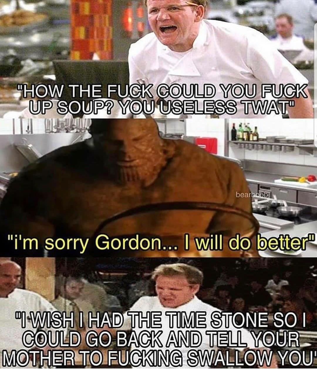 Thanos soup - meme