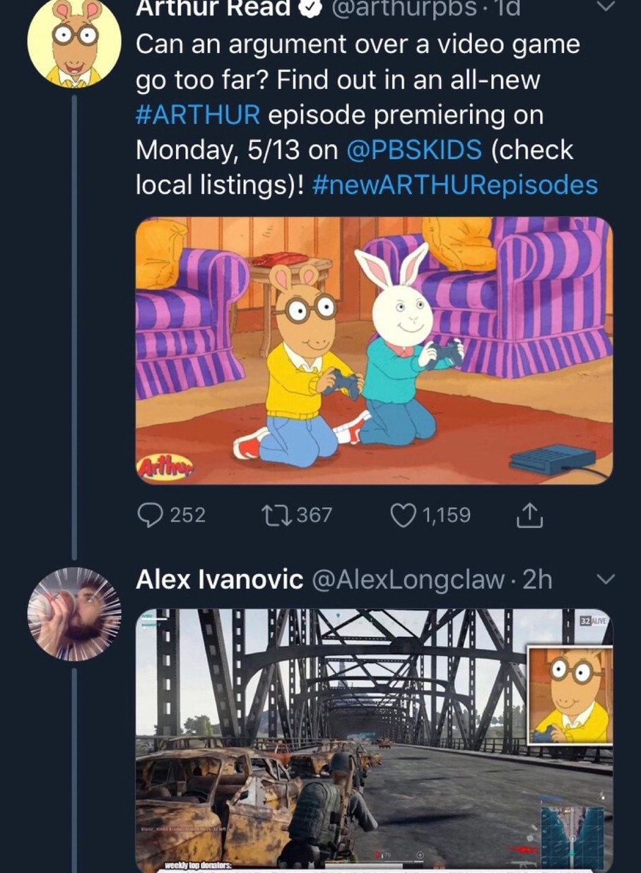 oh no, don't do it, Arthur! - meme