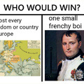 Never underestimate the French