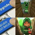 Never...never go back