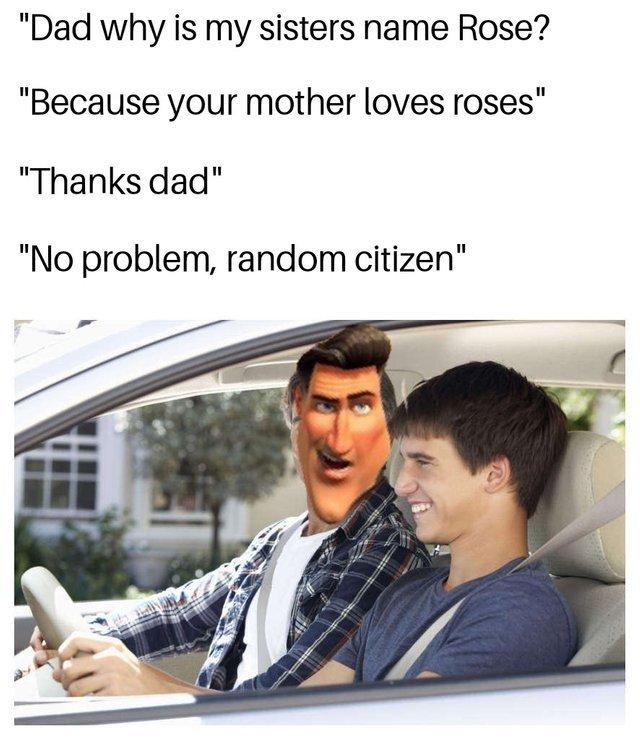 Random citezen - meme
