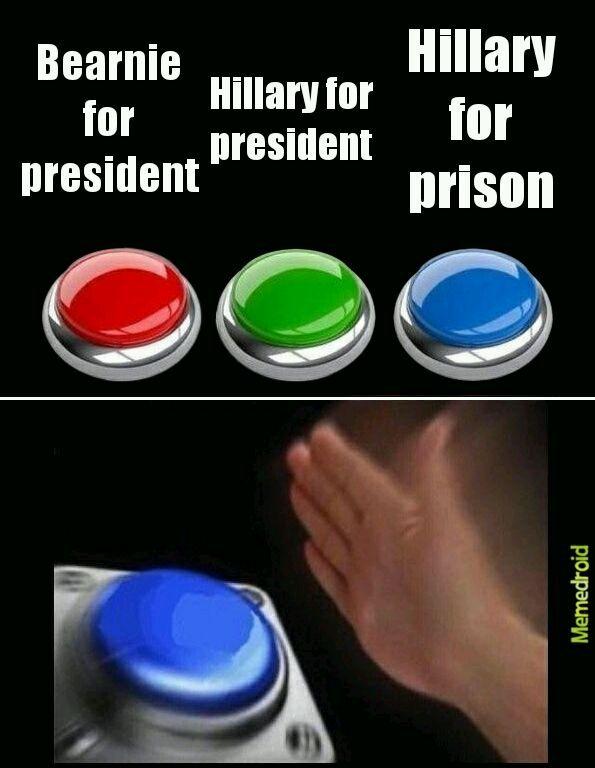 Hillary for prison!!!!!!! - meme