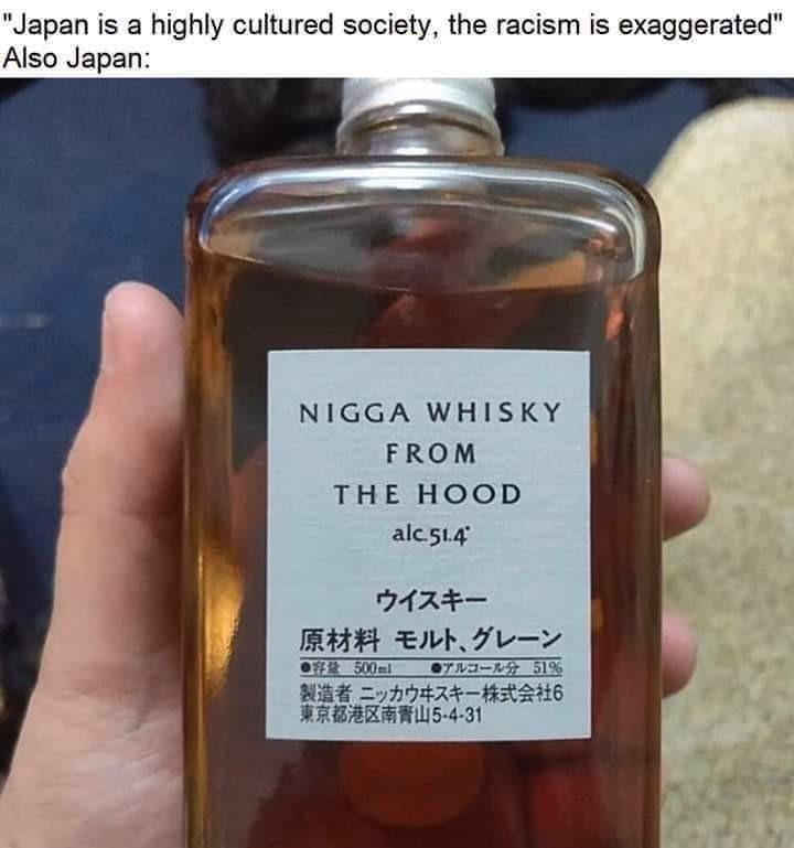 dongs in a whiskey - meme
