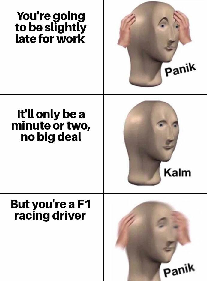 Better hurry - meme