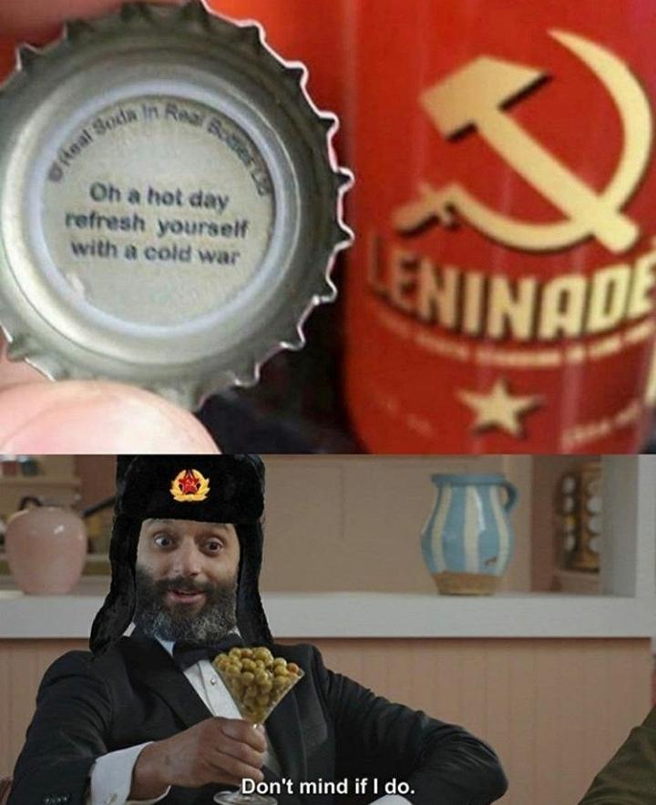 *CommunistNoise.mp3 rising* - meme