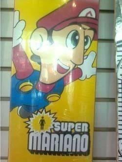 ¡Oh cielos! Quiero el poster de Super Mariano Bros - meme