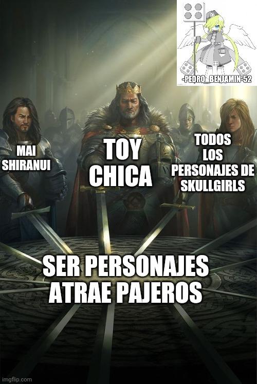También algunos personajes de Fire Emblem (como Tharja) - meme