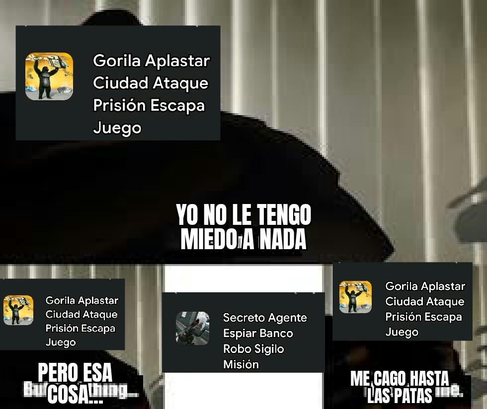 Secret agent Spy: Sigile mission bank thief ... SAS:SMBT o mejor... SAEBRSM - meme