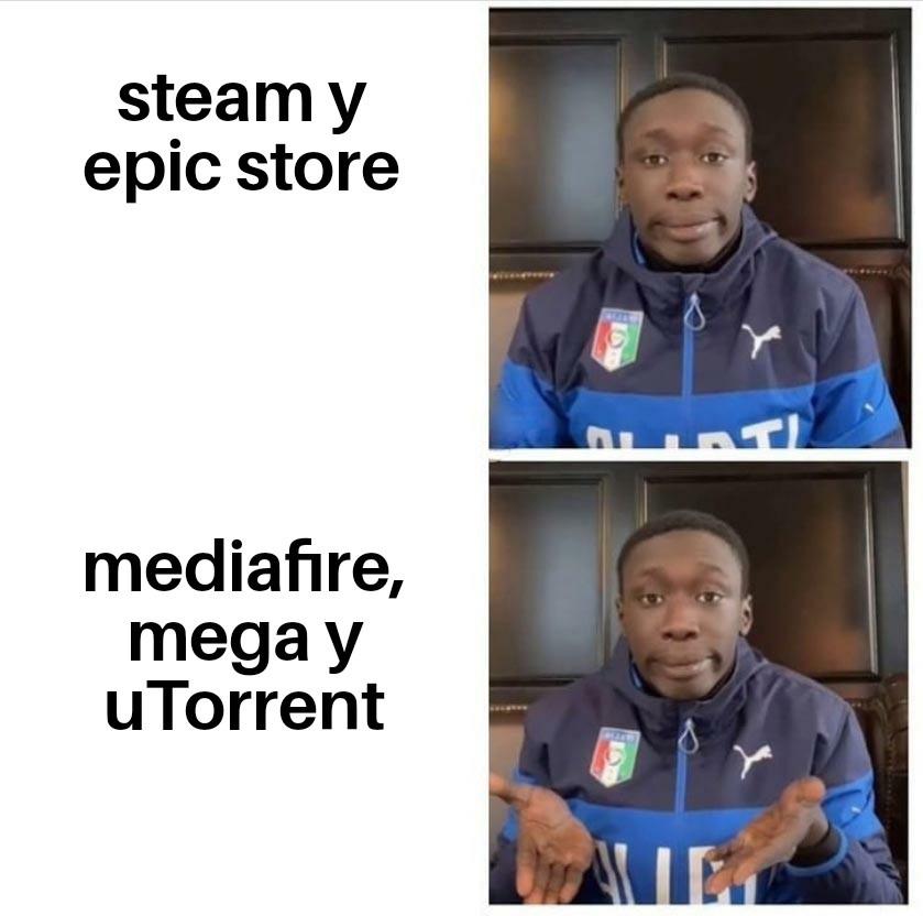 Es más facil - meme