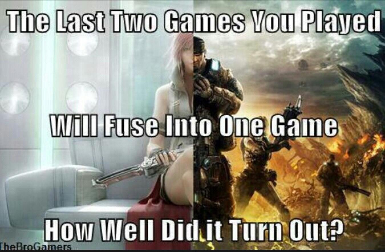 fallout 4 + Saints Row 4 - meme