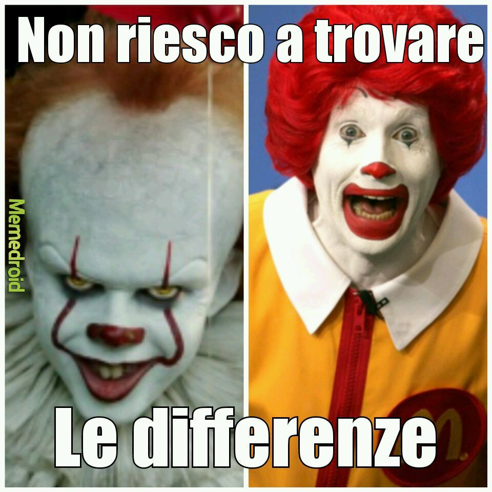 It è ronald mcdonald - meme