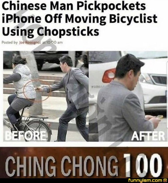 CHING CHONG BITCH - meme