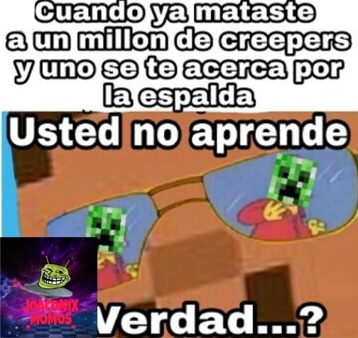 USTED NO APRENDE? - meme