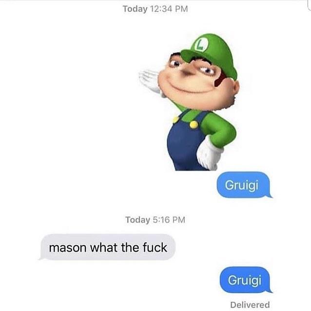 Gruigi - meme