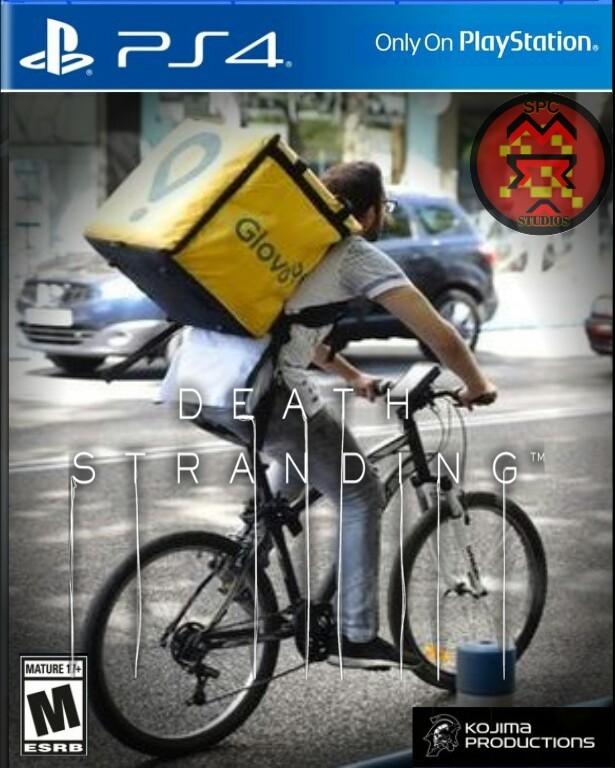 Death Stranding Glovo Edition - meme