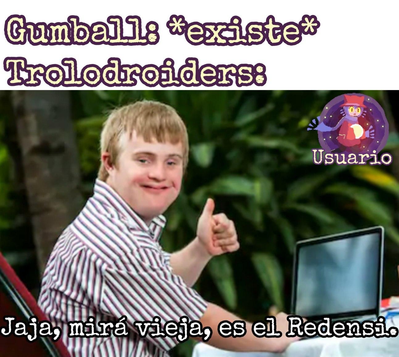 Jaja, mirá vieja es el Redensi. :genius: - meme