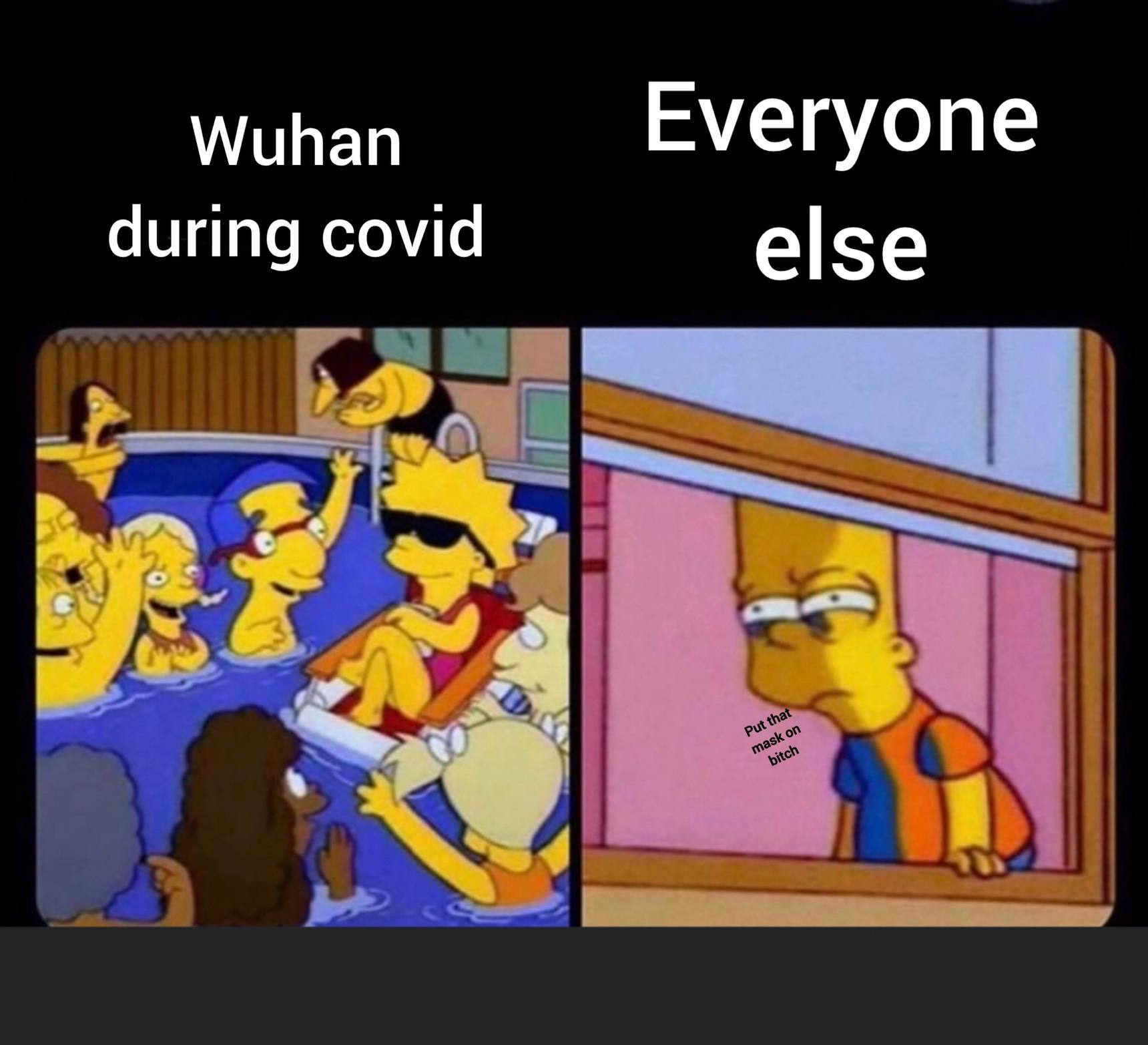 I'm glad Lisa gets payed the least - meme