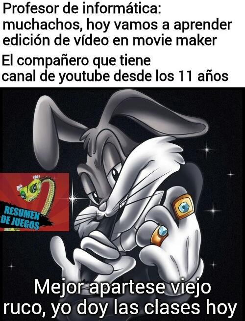 Bugs bunny facha - meme