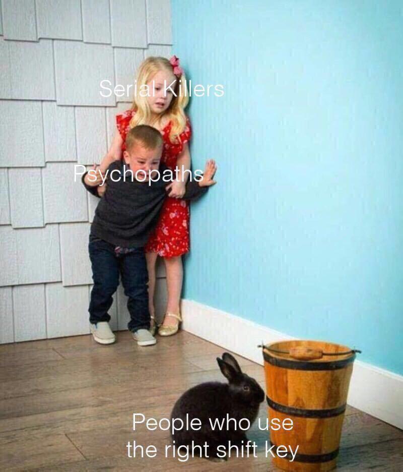 Most useless key ever - meme