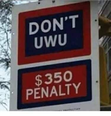 Don't UwU, seriously, don't. - meme