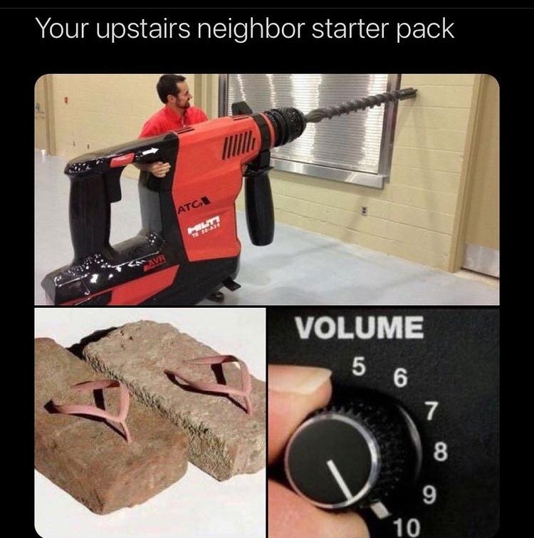 concrete flip flops - meme