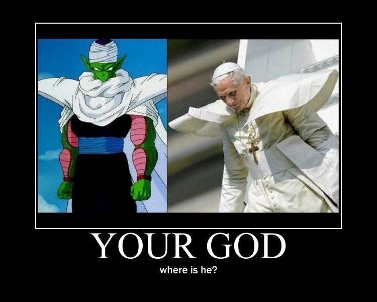 Pope Piccolo - meme