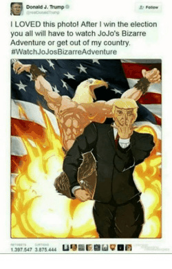 Happy B day Trump-u - meme