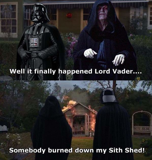 Sith shed - meme