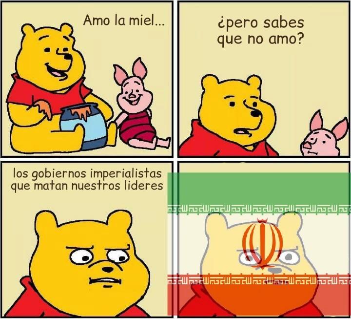 """La venganza es dulce como la miel"" - meme"