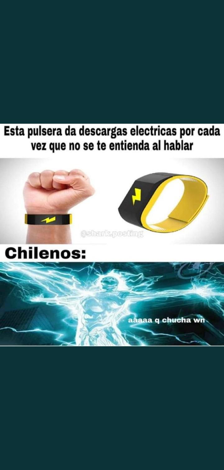 Chilenos - meme