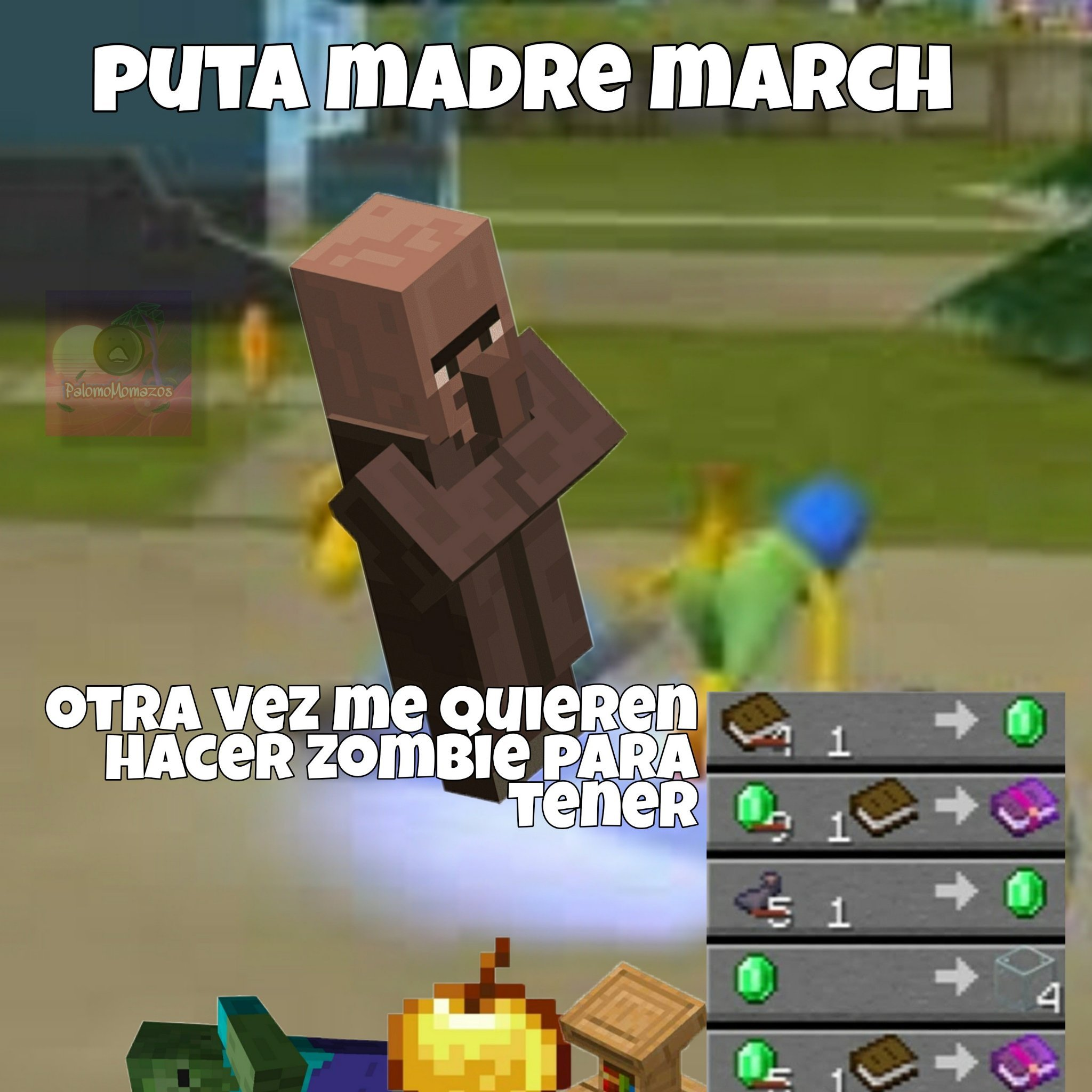 puta madre march - meme