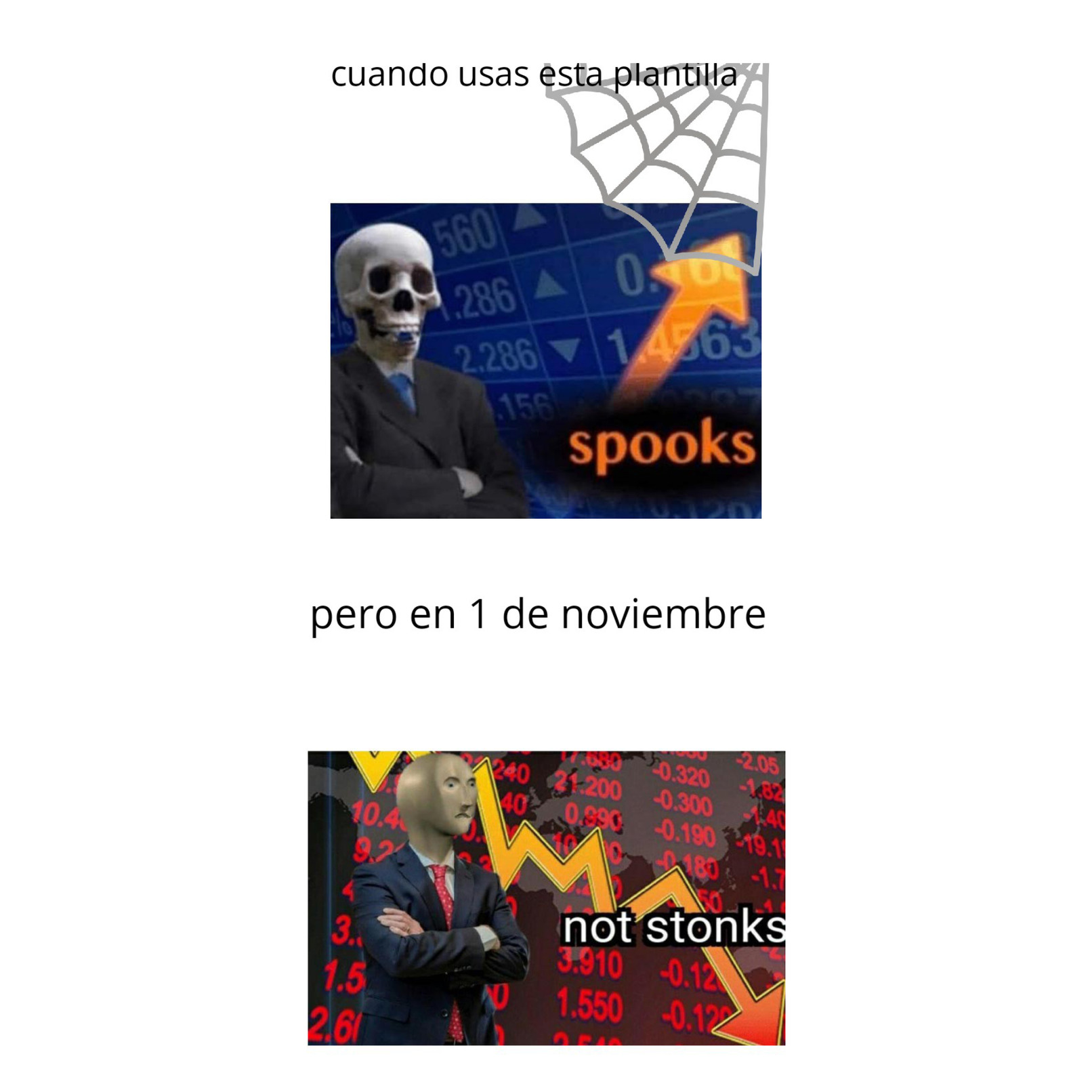 Not spooks - meme