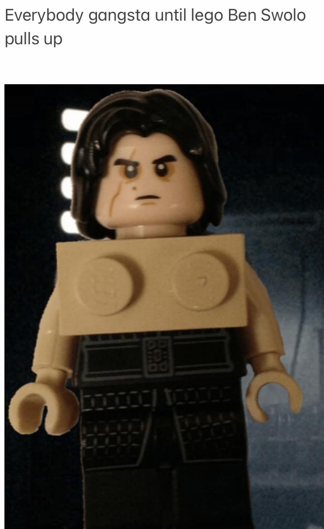 Lego Ben Swolo - meme