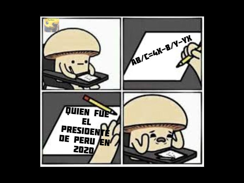 Solo los peruanos entenderán - meme