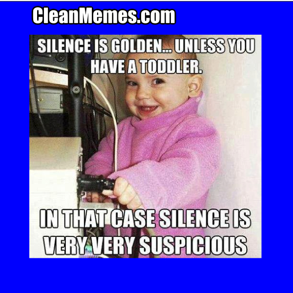 when a toddler is sus - meme