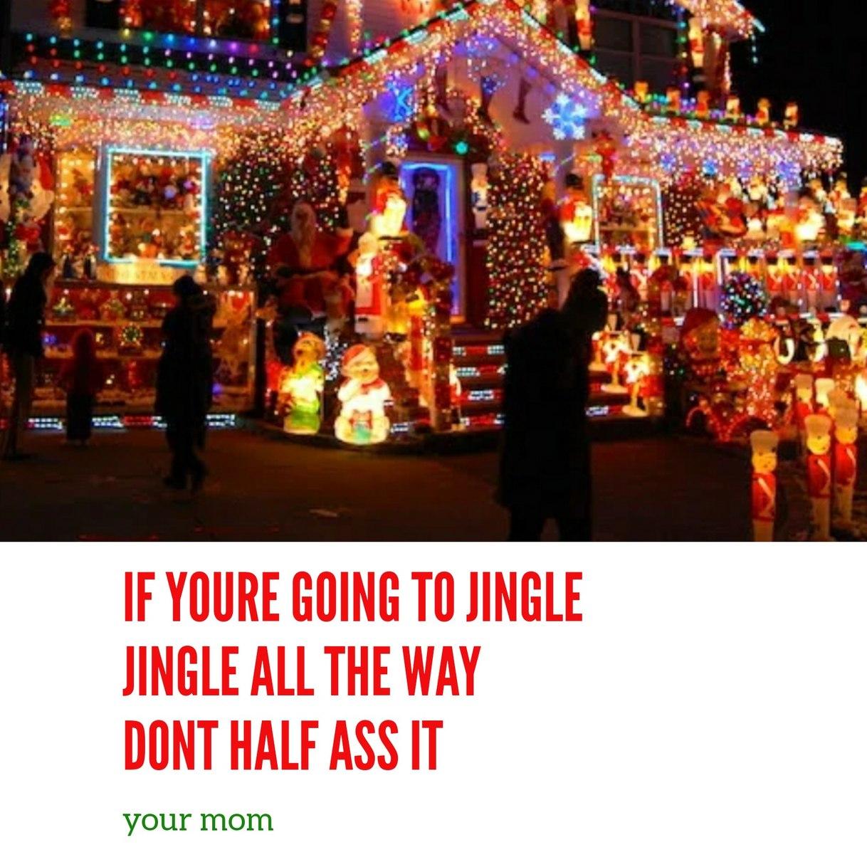 Merry Christmas ya filthy animals - meme