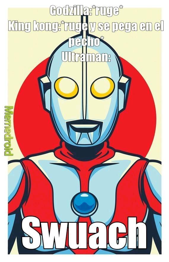 Ultraman best sonido ever - meme