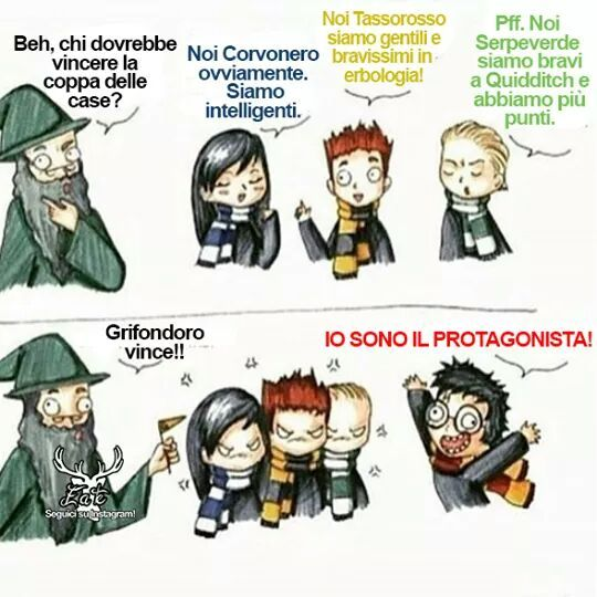 Viva grifondoro :-) - meme