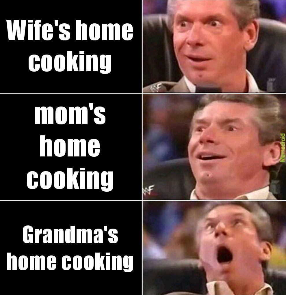 Mmmm food - meme